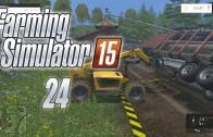 Let's Play Farming Simulator 15 (Gameplay | Walkthrough) Episode 24: Just Flip It (╯°□°)╯︵ ┻━┻