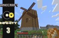 Lets Play Minecraft: Infinity (FTB Modpack) Ep 3: Building a Windmill