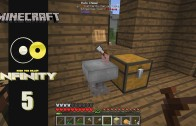 Lets Play Minecraft: Infinity (FTB Modpack) Ep 5: All This For Chopping Wood