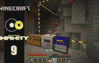 Lets Play Minecraft: Infinity (FTB Modpack) Ep 9: The Power Hungry Quarry