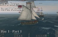 Let's Stream Naval Action (Let's Play | Gameplay): Day 1 – Part 1
