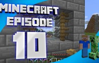 Minecraft Episode 10: Building a Foundation and a Question about Mods