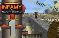 Minecraft: Infamy Modern Warfare PVP Survival Episode 1