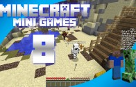 Minecraft Mini Games Episode 8 – Splegg, Cranked, and One in the Chamber w/ Johnny Pear
