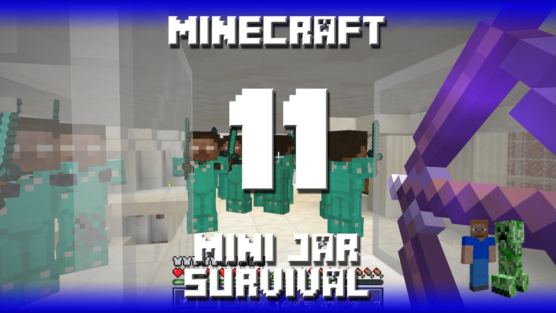 how to easily play minecraft survival with friends