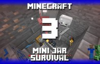 Minecraft – Mini Jar Survival Map – Episode 3: Skellie Jar