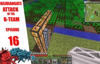 Minecraft ObsidianGate Attack of the B-Team Modpack: Episode 16 – Grinding to a Halt