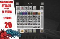 Minecraft ObsidianGate Attack of the B-Team Modpack: Episode 20 – Returning Items