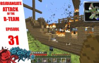 Minecraft ObsidianGate Attack of the B-Team Modpack: Episode 31 – Halloween Preparations