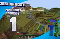 Minecraft ObsidianGate Server: Episode 1 – New Lands