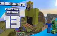 Minecraft ObsidianGate Server: Episode 13 – Fancy New Threads (Prank)