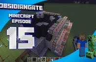 Minecraft ObsidianGate Server: Episode 15 – Automatic Stone Generator, Proof of Concept