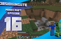 Minecraft ObsidianGate Server: Episode 16 – A New Entrance