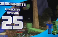 Minecraft ObsidianGate Server: Episode 25 – Playing with Slime Blocks and Pistons