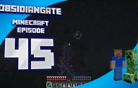 Minecraft ObsidianGate Server: Episode 45 – The Ocean Monument and Elder Guardians