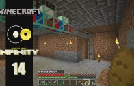 Lets Play Minecraft: Infinity (FTB Modpack) Ep 14: Deep Storage and Pipes
