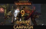Let's Play TOTAL WAR WARHAMMER [Dwarf Campaign] Episode 9: Defending Iron Rock