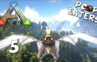 Let's Play Ark Survival Evolved Episode 5: Flying South – Poop Eaters Server