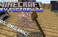 100% Organic Tree Iron – Minecraft Sky Factory 2.5 Gameplay – Modded SkyBlock