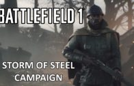 Storm of Steel Campaign – Battlefield 1 Single Player Campaign Gameplay