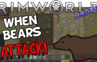 Let's Play RimWorld Part 2: When Bears Attack – Modded RimWorld Gameplay