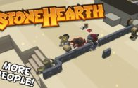 Stonehearth – Getting More People – Stonehearth Alpha 19 Gameplay – S2 Part 4