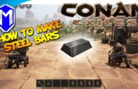 Conan Exiles – How To Make Steel Bars, The Recipe For Steel Ingots – Conan Exile How To And Tutorial