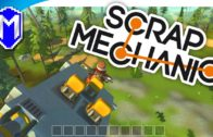 Scrap Mechanic – Starting To Build A Very Simple Car – Let's Play Scrap Mechanic Gameplay Part 1