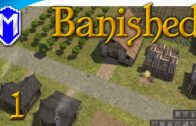 Banished – A New Colony, Keeping Our People Alive – Let's Play Modded Banished Gameplay Part 1