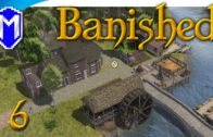 Banished – Building New Homes, We Need More Houses – Let's Play Modded Banished Gameplay Part 6
