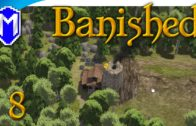 Banished – So Hungry, Population Dieing From Starvation – Let's Play Modded Banished Gameplay Part 8