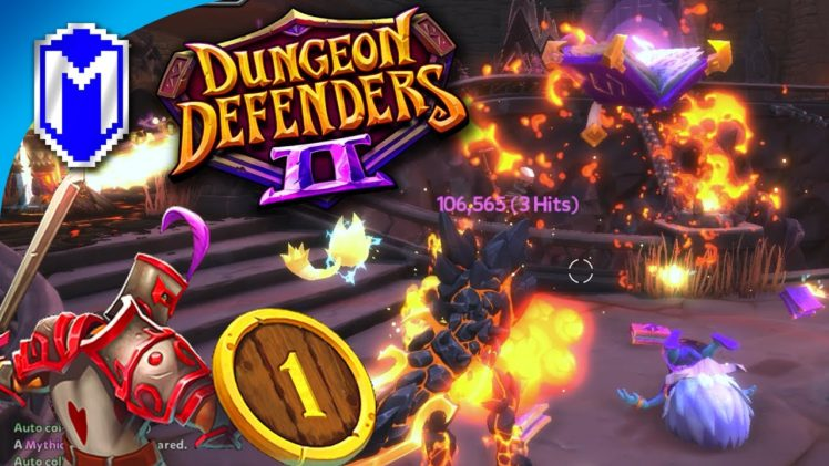 Back Defending Our Dungeons, The Heroes Of Etheria – Let's Play Dungeon Defenders 2 Gameplay Ep 1