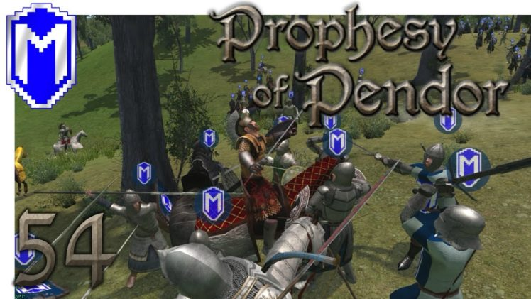 M&B – Capturing The Empire's King – Mount & Blade Warband Prophesy of Pendor 3.8 Gameplay Part 54