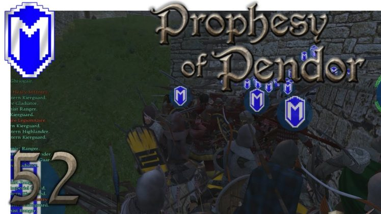 M&B – Invasion, Sieging 3 Castles – Mount & Blade Warband Prophesy of Pendor 3.8 Gameplay Part 52