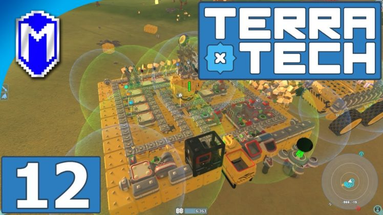 TerraTech – Building A New Manufactoring And Storage Base – Let's Play TerraTech Gameplay Ep 12