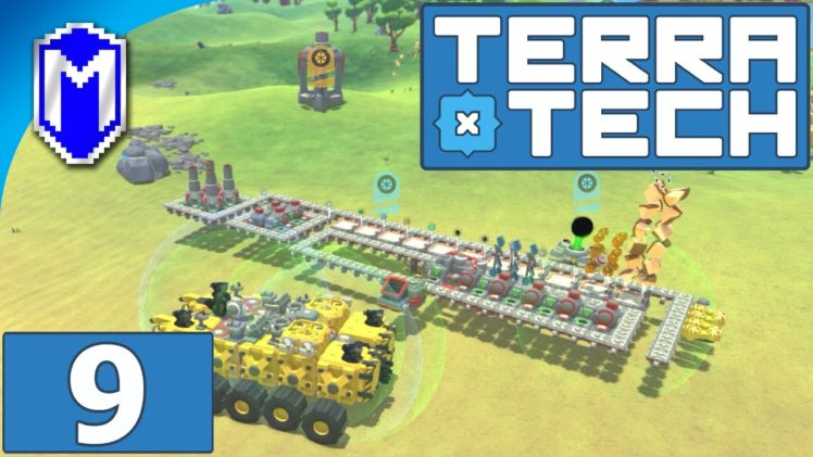 TerraTech – Our New Crafting Base And Resource Storage – Let's Play TerraTech Gameplay Ep 9