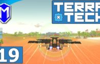 TerraTech – Rocket Powered Jet Fighter, Our Missile Plane – Let's Play TerraTech Gameplay Ep 19