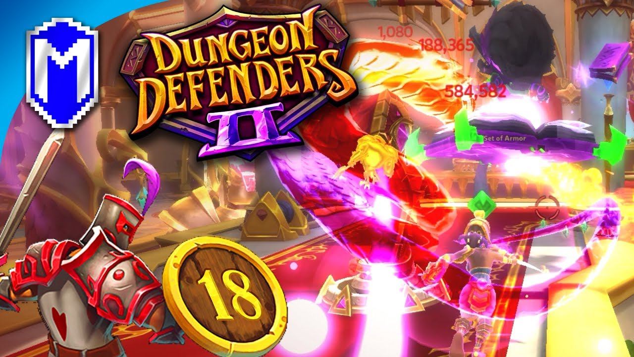 The Call To Madness, Mystic One Hero Challenge – Let's Play Dungeon Defenders 2 Gameplay Ep 18