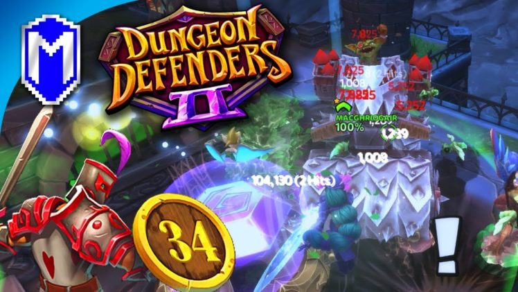 Goblin Siege Roller At The Crystal! Chaos 5 Solo – Let's Play Dungeon Defenders 2 Gameplay Ep 34