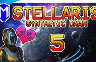 Colonizing More Planets And Upgrading – Let's Play Stellaris Synthetic Dawn Gameplay Ep 5