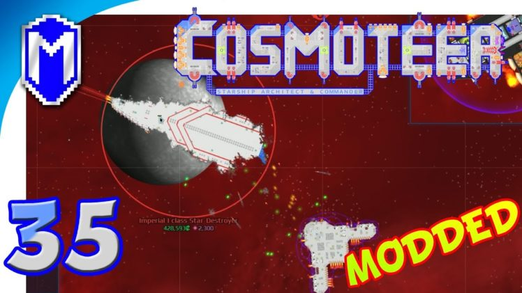 Cosmoteer – Destroying A Star Wars Star Destroyer – Let's Play Cosmoteer Star Wars Gameplay Ep 35