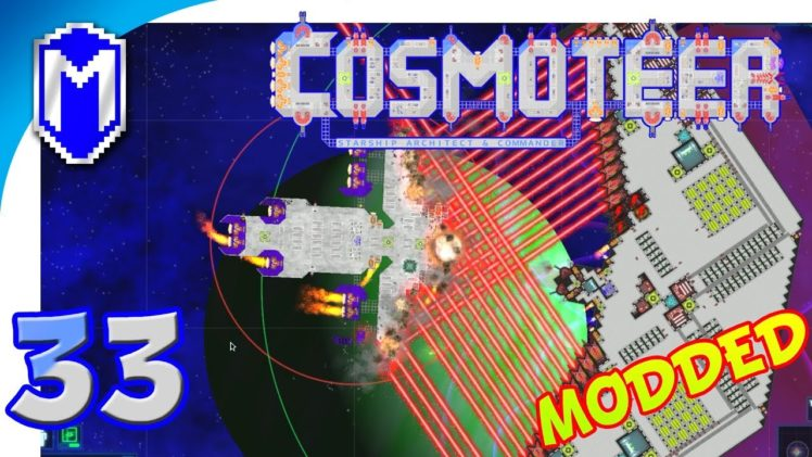 Cosmoteer – Diagonal Ship, Ion Beam Experiment – Let's Play Cosmoteer Star Wars Gameplay Ep 33
