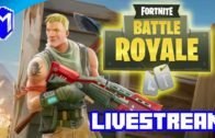 Fighting For Our Survival – Let's Play Fortnite Battle Royale Livestream Gameplay
