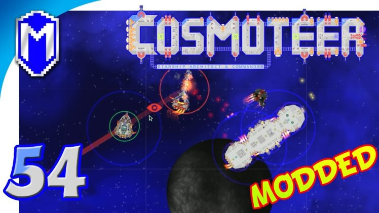 Cosmoteer – A Small Fleet With A Large Ship – Let's Play Cosmoteer Star Wars Gameplay Ep 54