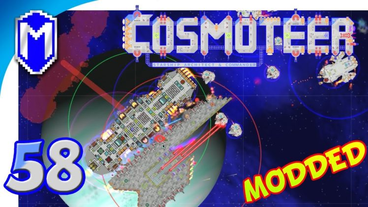 Cosmoteer – A Squad Of Medium Fighters, Small Ships – Let's Play Cosmoteer Star Wars Gameplay Ep 58