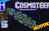 Cosmoteer – HAL, Super Armoured Drone Mothership, No Crew – Let's Play Cosmoteer Mods Gameplay Ep 5