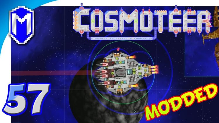 Cosmoteer – Our Sniper, New Mass Driver Ship – Let's Play Cosmoteer Star Wars Gameplay Ep 57