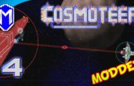 Cosmoteer – Super Long Range Artillery, Quad Oigami – Let's Play Cosmoteer Mods Gameplay Ep 4