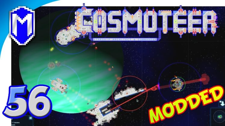 Cosmoteer – Vanguard Difficulty, New Missile Ship – Let's Play Cosmoteer Star Wars Gameplay Ep 56