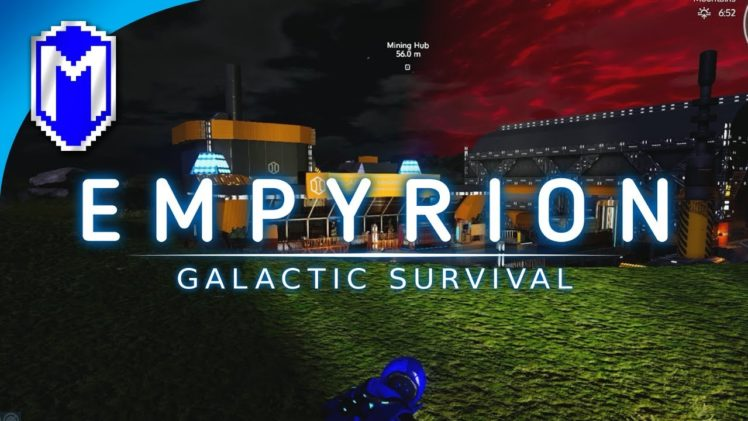 Empyrion – Finding The Mining Hub, New Base – Let's Play Empyrion – Galactic Survival Gameplay Ep 7